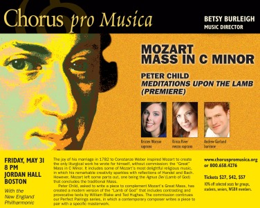 W.A. Mozart: Mass in C Minor