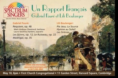 Un Rapport Francais—Gabriel Faure and Lili Boulanger