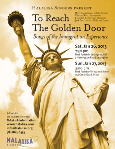 To Reach the Golden Door: Songs of the Immigration Experience
