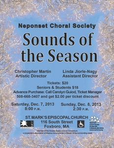 Frostiana and other music of the season.