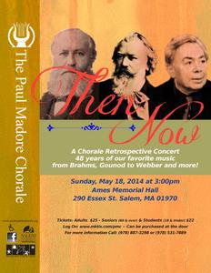 Then & Now: A Chorale Retrospective Concert