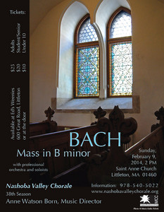 Bach: Mass in B Minor.