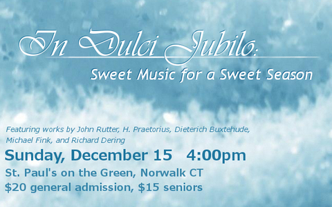 In Dulci Jubilo - Sweet Music for a Sweet Season
