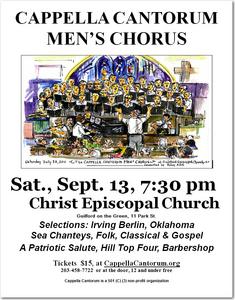 Men's Chorus Fall Concert