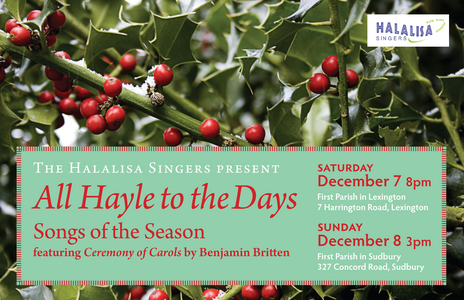 All Hayle to the Days: Songs of the Season