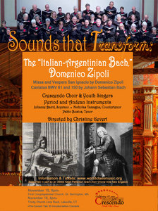 "Sounds that Transform: The ""Italian-Argentinian Bach,"" Domenico Zipoli"