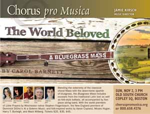 The World Beloved: A Bluegrass Mass