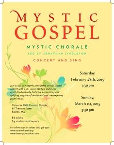 Mystic Gospel 2015