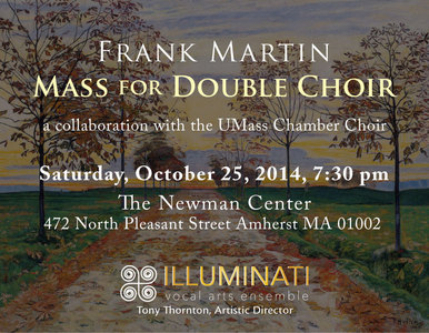 Frank Martin: Mass for Double Choir