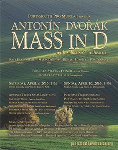 Dvorak's Mass in D