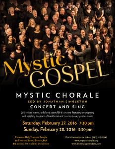 Mystic Gospel 2016