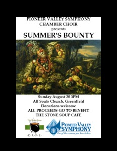 """Summer's Bounty"" Benefit Concert"
