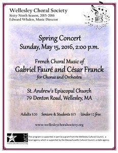 Choral Music of Fauré and Franck.