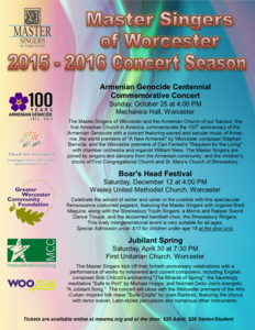 Armenian Genocide Centennial Commemorative Concert