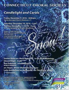 Candlelight and Carols Concert: SNOW!