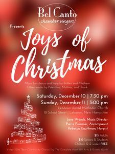 """Holiday concert """"Joys of Christmas"""""""