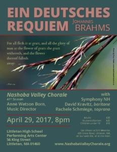 Johannes Brahms: Ein Deutsches Requiem.