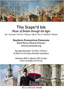 This Scept'rd Isle: Music of Britain Through the Ages