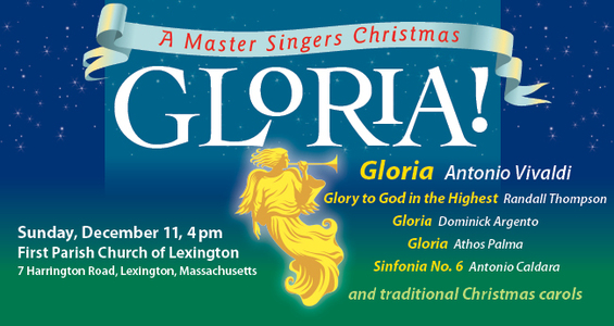 Gloria! A Master Singers Christmas.