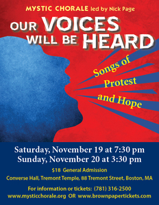 Our Voices Will Be Heard: Songs of Protest & Hope