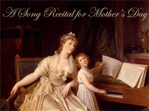 A Song Recital for Mother's Day