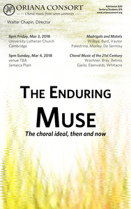 The Enduring Muse: The choral ideal, then and now