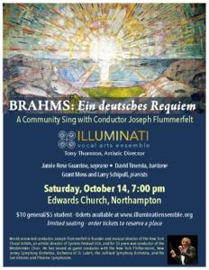 Brahms Requiem Sing with Joseph Flummerfelt