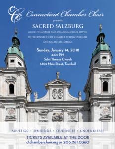 40th Anniversary Season: Sacred Salzburg