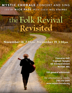 The Folk Revival Revisited with Bill Staines!
