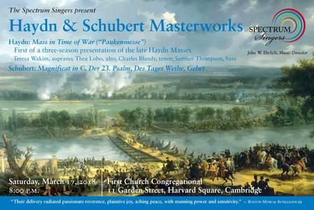 Haydn and Schubert Masterworks