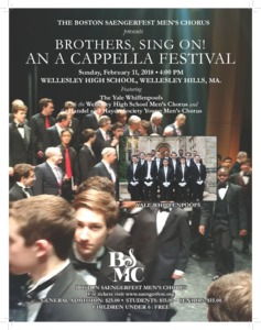 Brothers Sing on! An A Cappella Festival