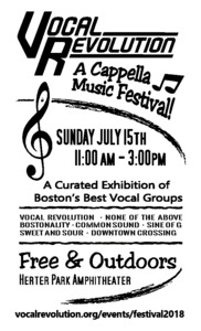 Vocal Revolution A Cappella Festival