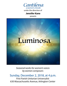 Luminosa: Seasonal Works for Women's Voices by Women Composers