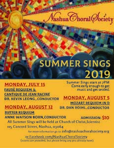 Summer Sing: Fauré Requiem