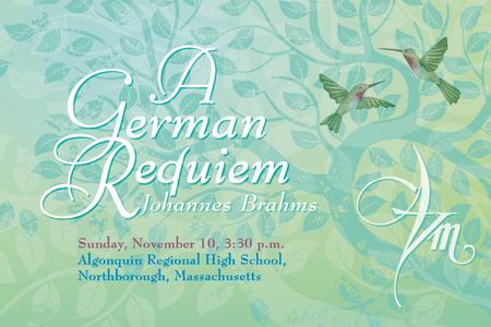 Johannes Brahms: A GERMAN REQUIEM