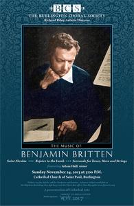 Benjamin Britten Centenary Choral Concert