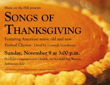 Songs of Thanksgiving