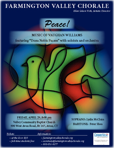 Peace! Music of Vaughan Williams, featuring Dona Nobis Pacem