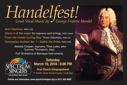 Handelfest! – Brilliant Anthems and Choruses.