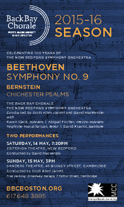 Bernstein and Beethoven.