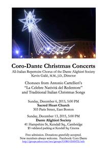 Coro Dante Christmas Concert