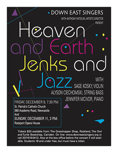 Heaven and Earth, Jenks and Jazz