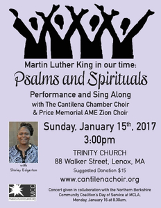 Martin Luther King Concert of Spirituals