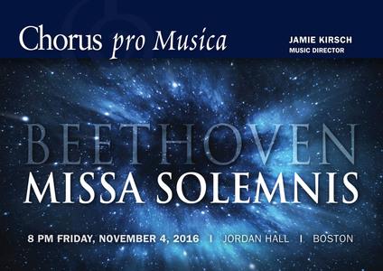 Ludwig van Beethoven: Missa Solemnis.