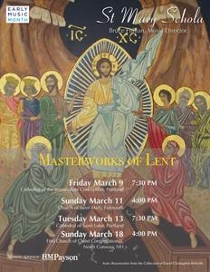 Masterworks of Lent