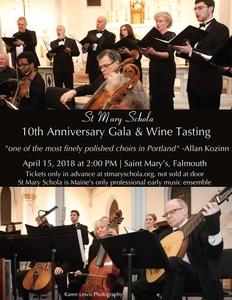 10th Anniversary Gala & Wine Tasting