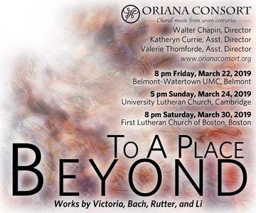 To a Place Beyond: Four dissimilar choral works; same journey