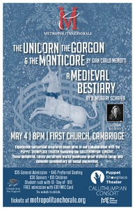 The Unicorn, the Gorgon, and the Manticore and The Medieval Bestiary