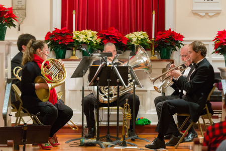 Christmas with Counterpoint and the Vermont Symphony Orchestra Brass Quintet
