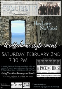Coffeehouse concert: songs and stories from
